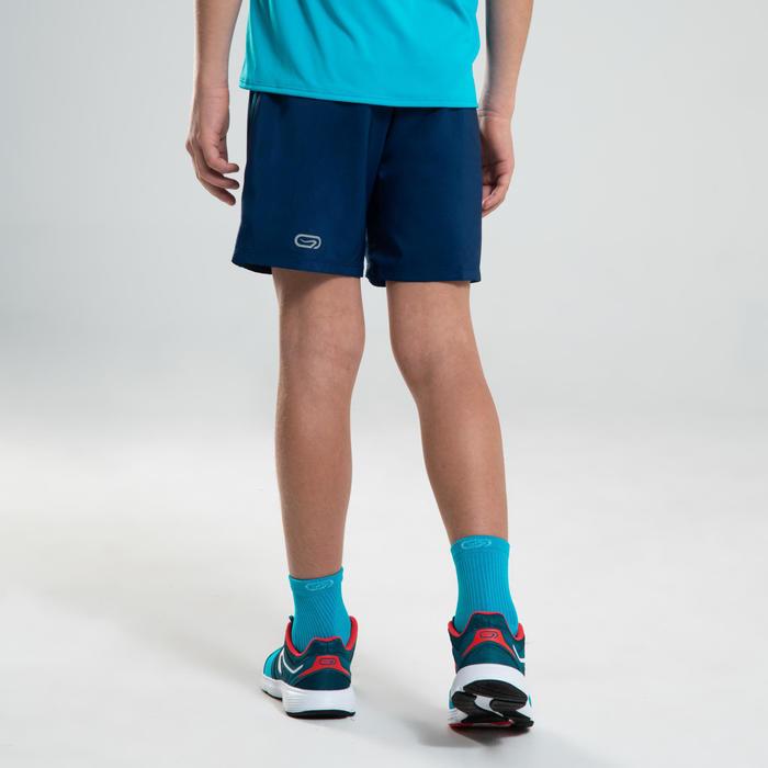 Hardloopshort kind AT 100 inktblauw