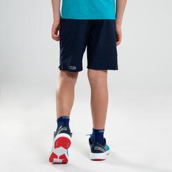 Short enfant d'athlétisme AT 500 bleu