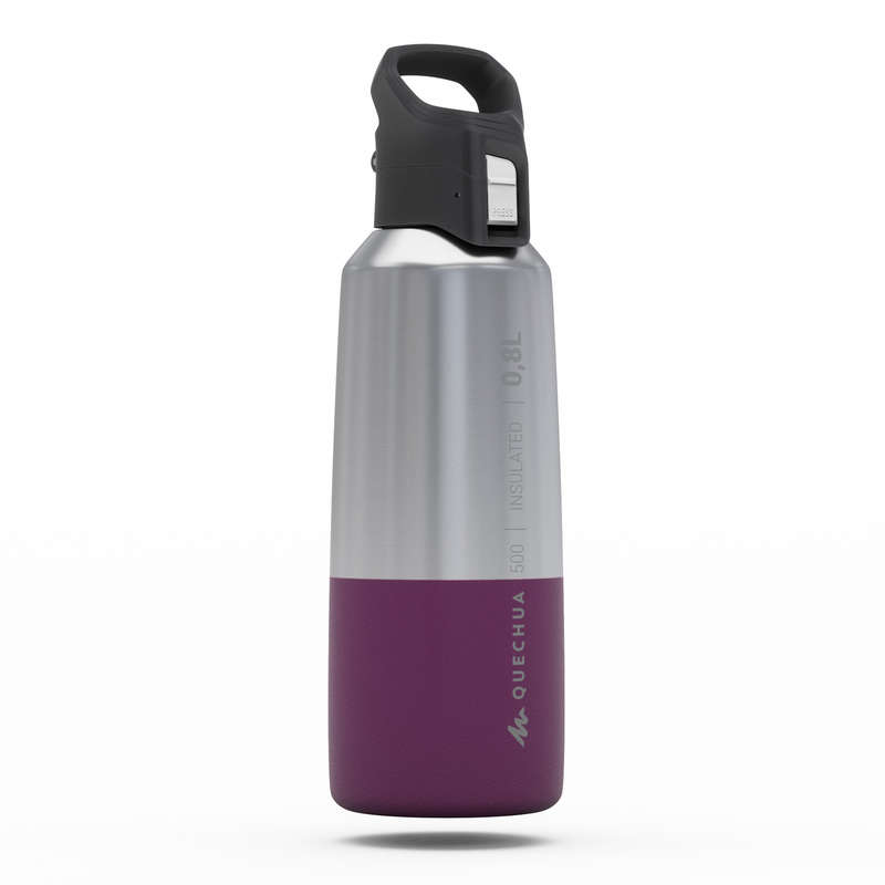 HIKING INSULATED BOTTLES, BOXES Water Bottles - Insulated flask MH500 0.8L QUECHUA - Nutrition and Body Care