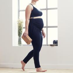 Jogginghose für Schwangere Yoga, Umstandsmode Damen schwarz