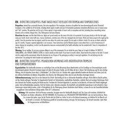 ANTI-INSECTE VAPORISATEUR BIOVECTROL EUCALYPTUS 75 ML