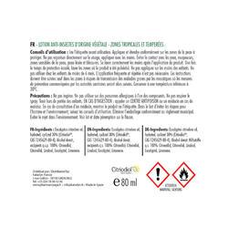 Spray anti insectes naturel - BIOVECTROL - Eucalyptus citronné - 75 ml