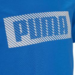 T-SHIRT BLEU COTON PUMA