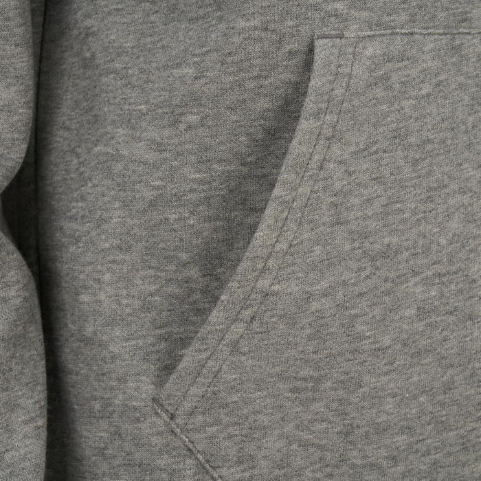 SWEAT CAPUCHE GRIS CLAIR PUMA