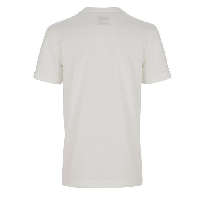 T-shirt katoen wit