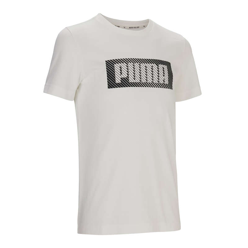 ABBIGLIAMENTO LEGGERO BAMBINO Ginnastica, Pilates - T-shirt Puma bambino bianca PUMA - Ginnastica, Pilates