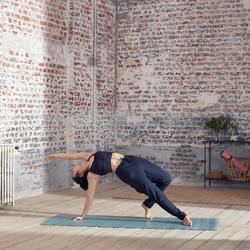 Studio Women's Draping Dynamic Yoga Bottoms - Black