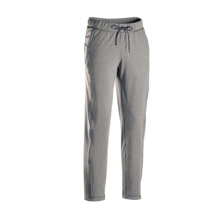 男款舒緩瑜珈長褲 - 灰色
