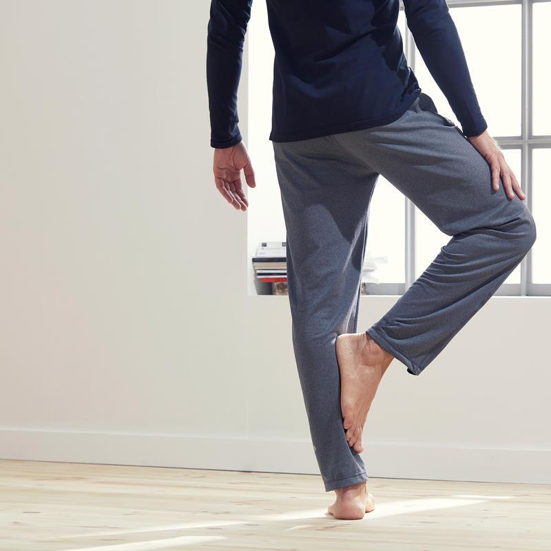 Men's Gentle Yoga Bottoms - Grey