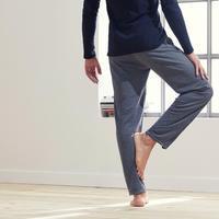 Pantalon yoga doux gris– Hommes
