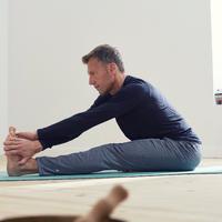 Long-Sleeved Gentle Yoga T-Shirt - Men