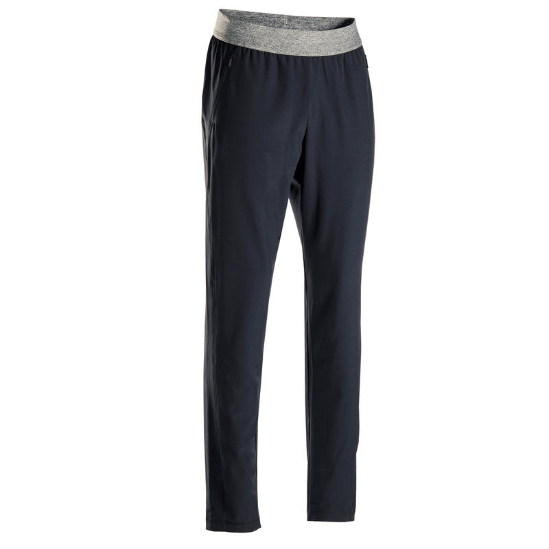 Men's Dynamic Yoga Woven Bottoms - Black