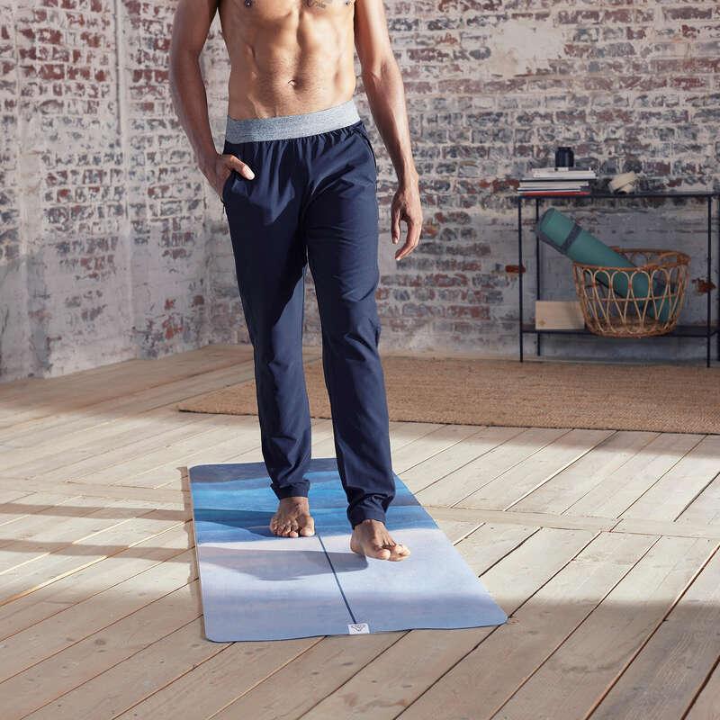 MAN YOGA APPAREL Clothing - Woven Dynamic Yoga Bottoms DOMYOS - By Sport