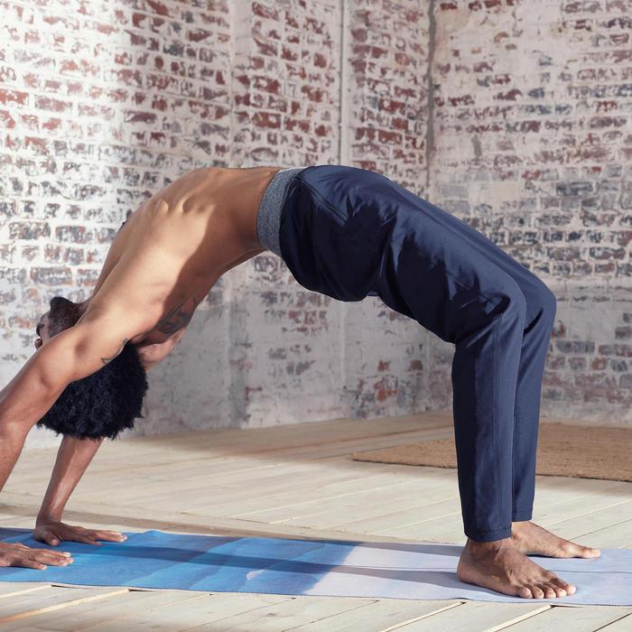 Men's Dynamic Yoga Woven Bottoms - Black