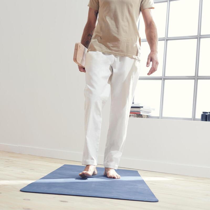Men's Gentle Yoga Woven Bottoms - White