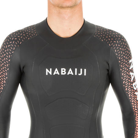 Men's Swimming Cold Water 4/2 mm Neoprene Wetsuit OWS