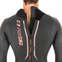 Neopreen wetsuit voor zwemmen in open water heren OWS 4/2 mm koud water