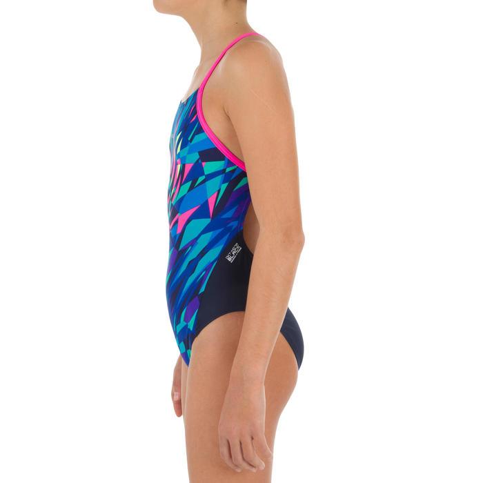 Sportbadpak voor zwemmen meisjes chloorbestendig Lexa kali roze