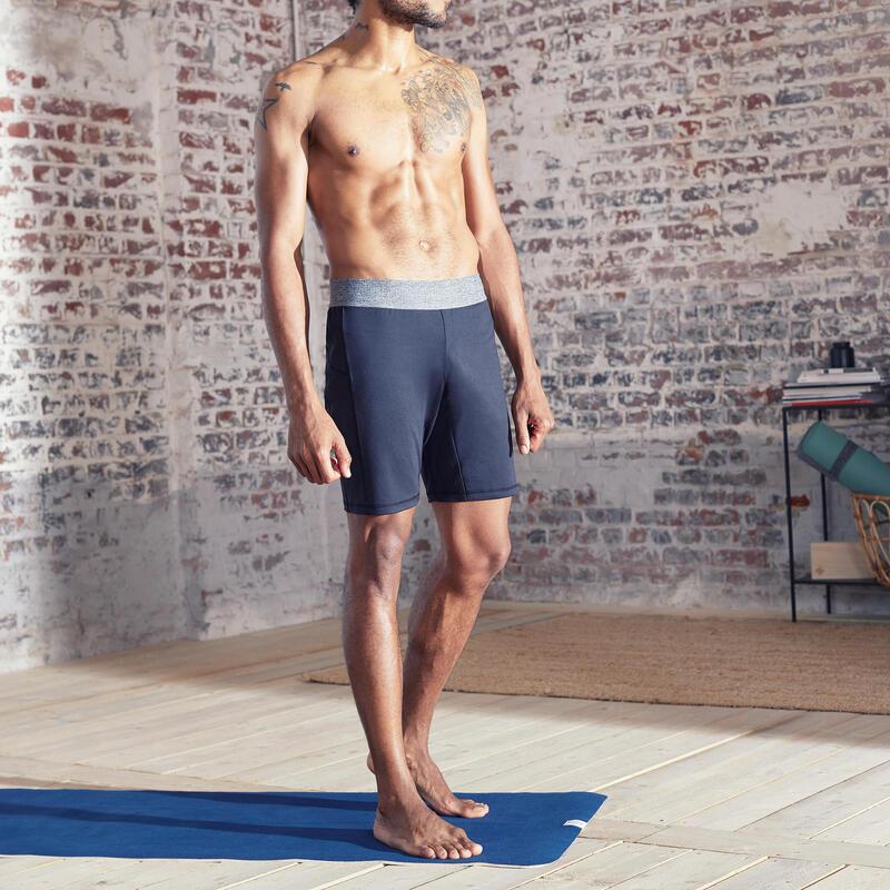 Pantalones cortos Hombre slim Short Yoga Gris oscuro