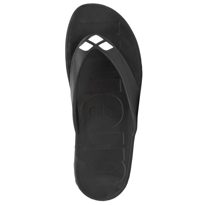 Teenslippers voor zwemsport Watergrip zwart