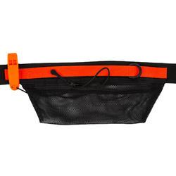 Riem bungeekoord voor swimrun met zakje