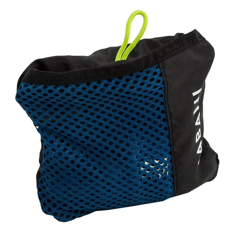กระเป๋าผ้าตาข่ายใส่อุปกรณ์ว่ายน้ำขนาด 30 ลิตร (สีน้ำเงินเข้ม)