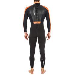 Neopreen wetsuit voor zwemmen in open water heren OWS 2/2 mm