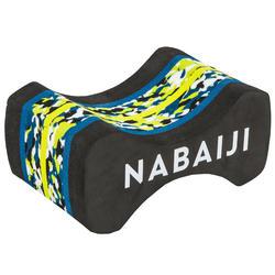 Pull buoy voor zwemmen 500 maat M marble zwart/geel