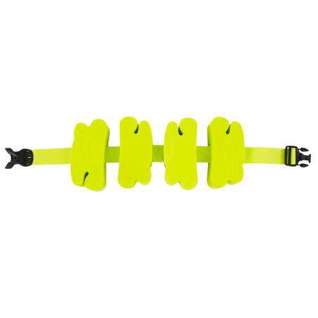 Plaukimo diržas su nuimamais žaliais plūdurais, 15–60 kg