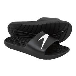 Badelatschen Slides schwarz