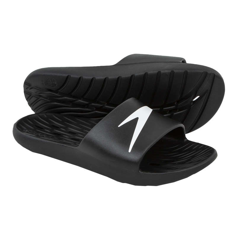 SIMSKOR Simning - SPEEDO SLIDES BLACK* SPEEDO - Simutrustning