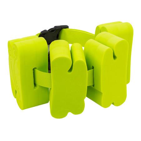 Sabuk renang 15-60 kg dengan sisipan busa hijau