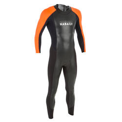 Neopreen wetsuit voor zwemmen in open water heren OWS 2/2 mm