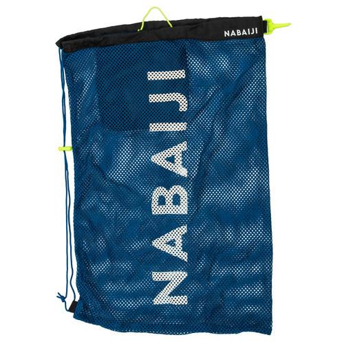 sac de natation filet 30L bleu