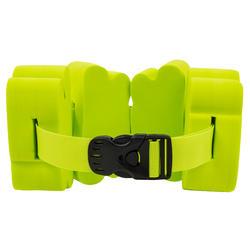 Swimming belt 15-60 kg with green foam inserts