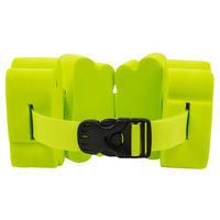 Пояс для плавания для веса 15–60 кг с зелеными секциями из пеноматериала