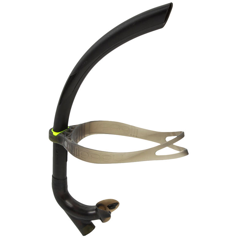 CENTRE-MOUNTED SWIMMING SNORKEL SIZE L