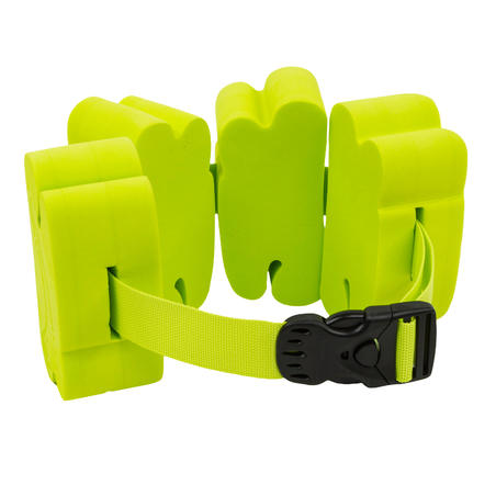 Swimming belt 15-60 kg with green foam inserts