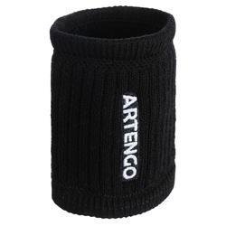網球護腕TP 500 - 黑色/白色