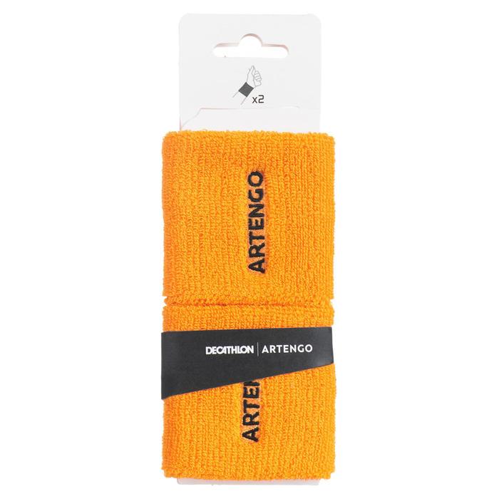 網球護腕TP 100-黃色
