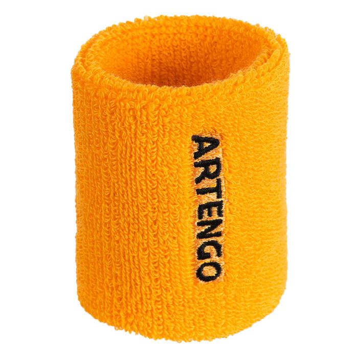 Zweetbandjes voor tennis TP 100 geel
