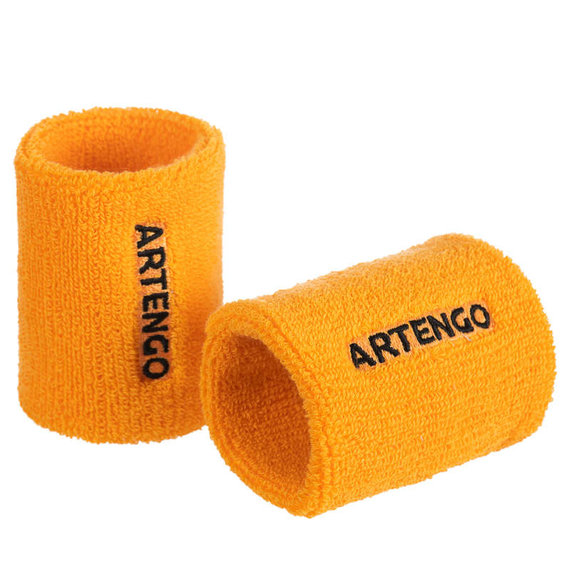 APPAREL ACCESSORIES Tennis - Tennis Wristband TP 100 Yellow ARTENGO - Tennis Clothes @1195TWEETY C