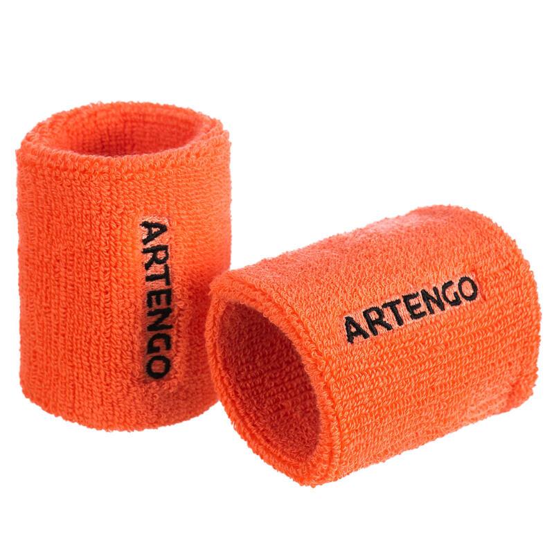 網球護腕TP 100-橙色