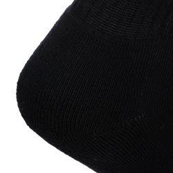 Hoge tennissokken RS 100 zwart set van 3 paar