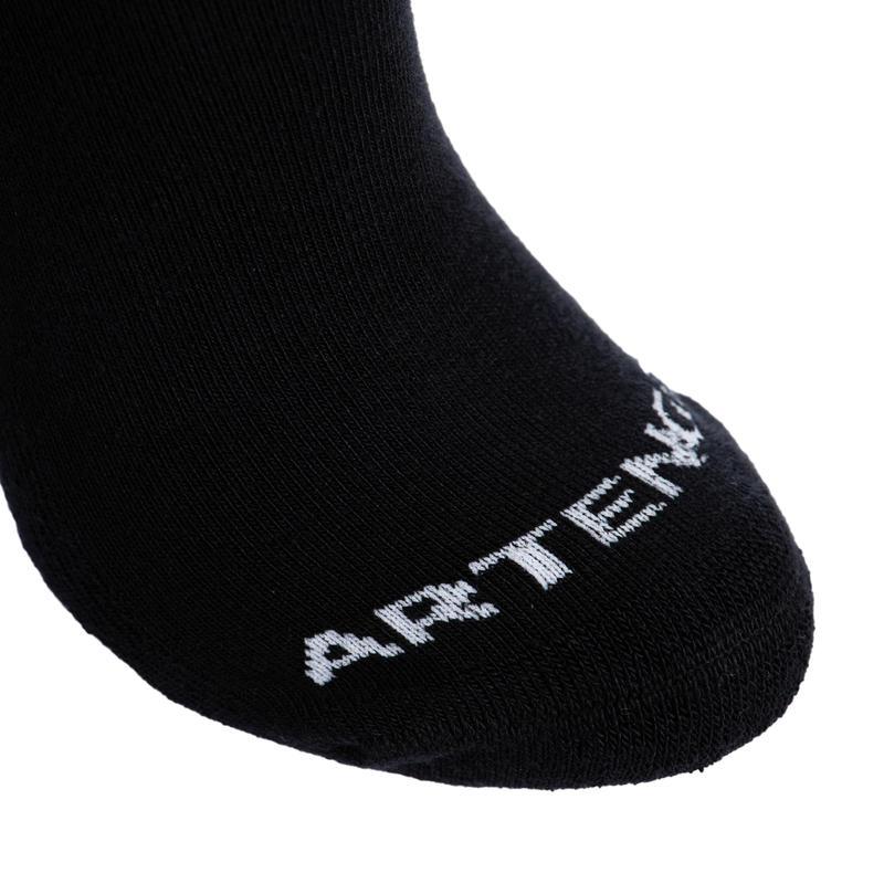 High Tennis Socks RS 100 Tri-Pack - Black