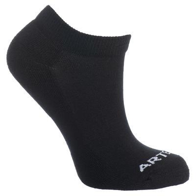 Low Tennis Socks RS 100 Tri-Pack - Black