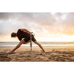 Short voor dynamische yoga heren zwart