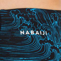 MAILLOT DE BAIN JAMMER NATATION GARÇON 500 FIRST NOIR SEA BLEU