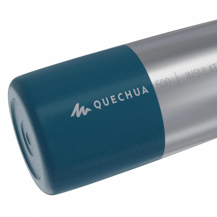 Gourde MH500 isotherme randonnée inox 0,8L bleu