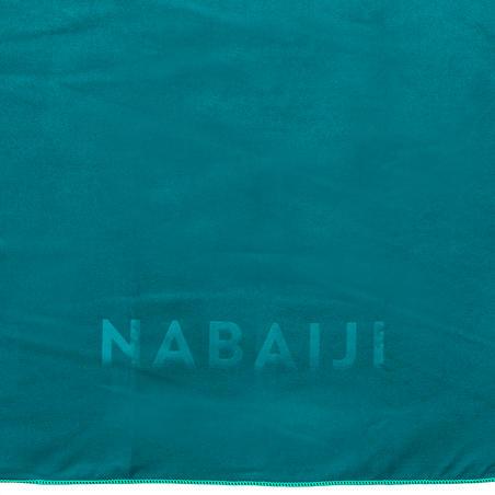 Compact microfibre towel size L 80 x 130 cm - Green